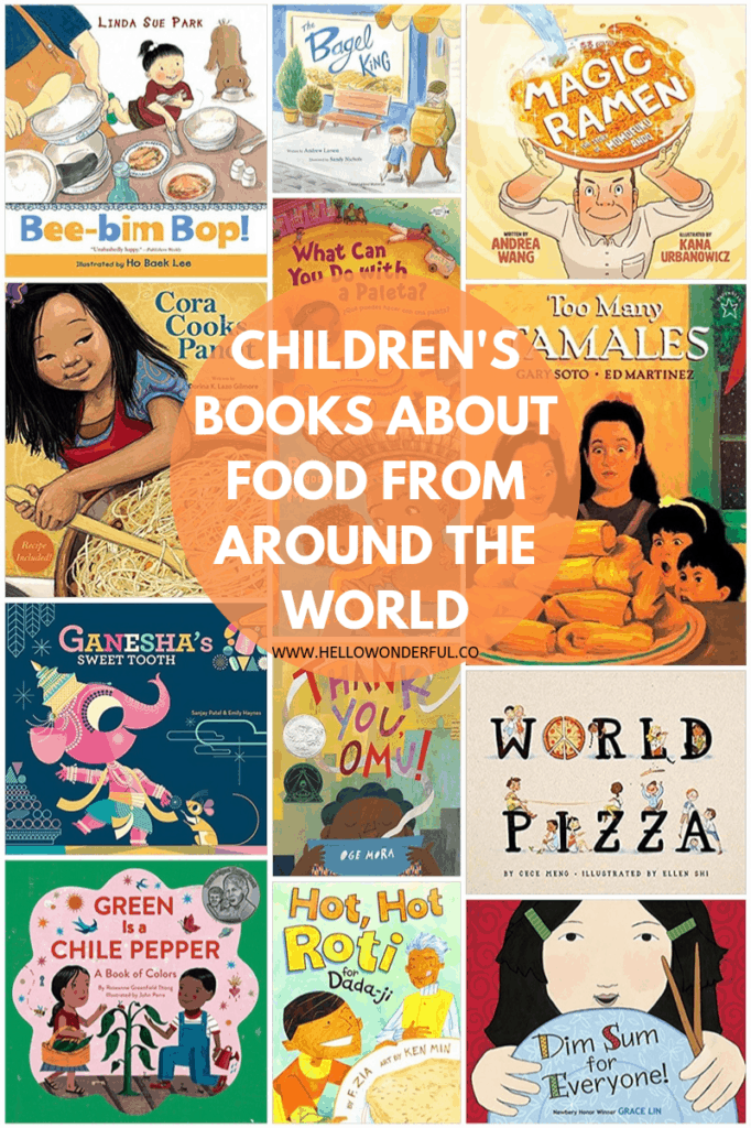 List of children's books about food from around the world.