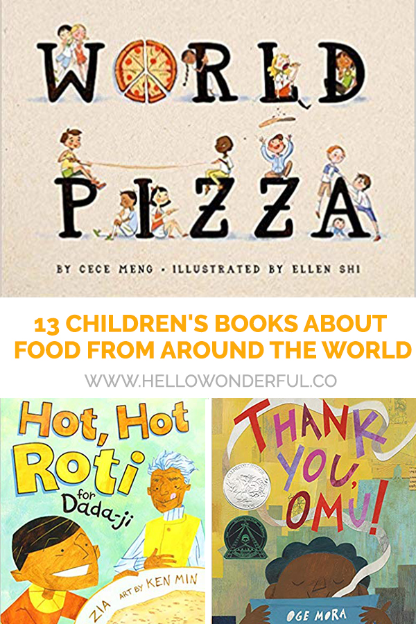 13 Children's Books about Foods from Around the World