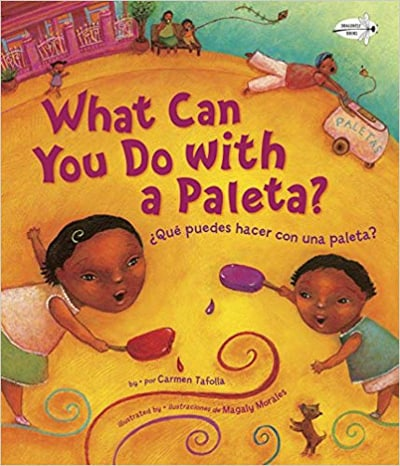 World Food Picture Books - What Can you do with a Paleta