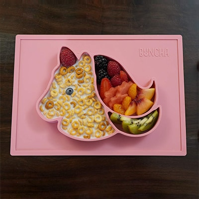 Unicorn Placemat Silicone For Kids