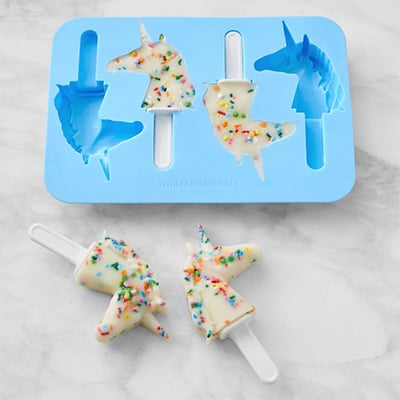 Unicorn Popsicle Mold.
