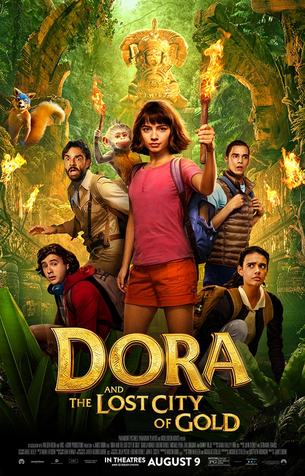 Dora and the Lost City of Gold Movie Art Poster