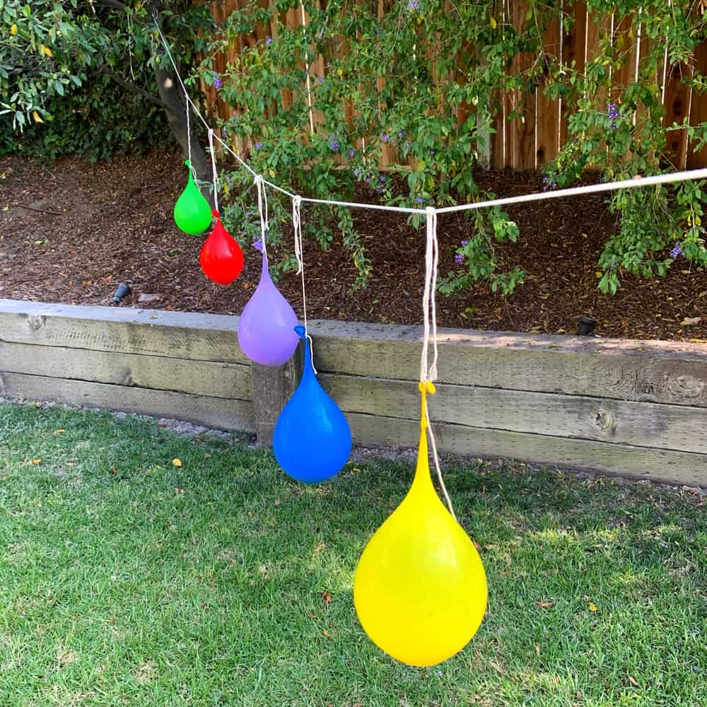 Water balloon piñatas