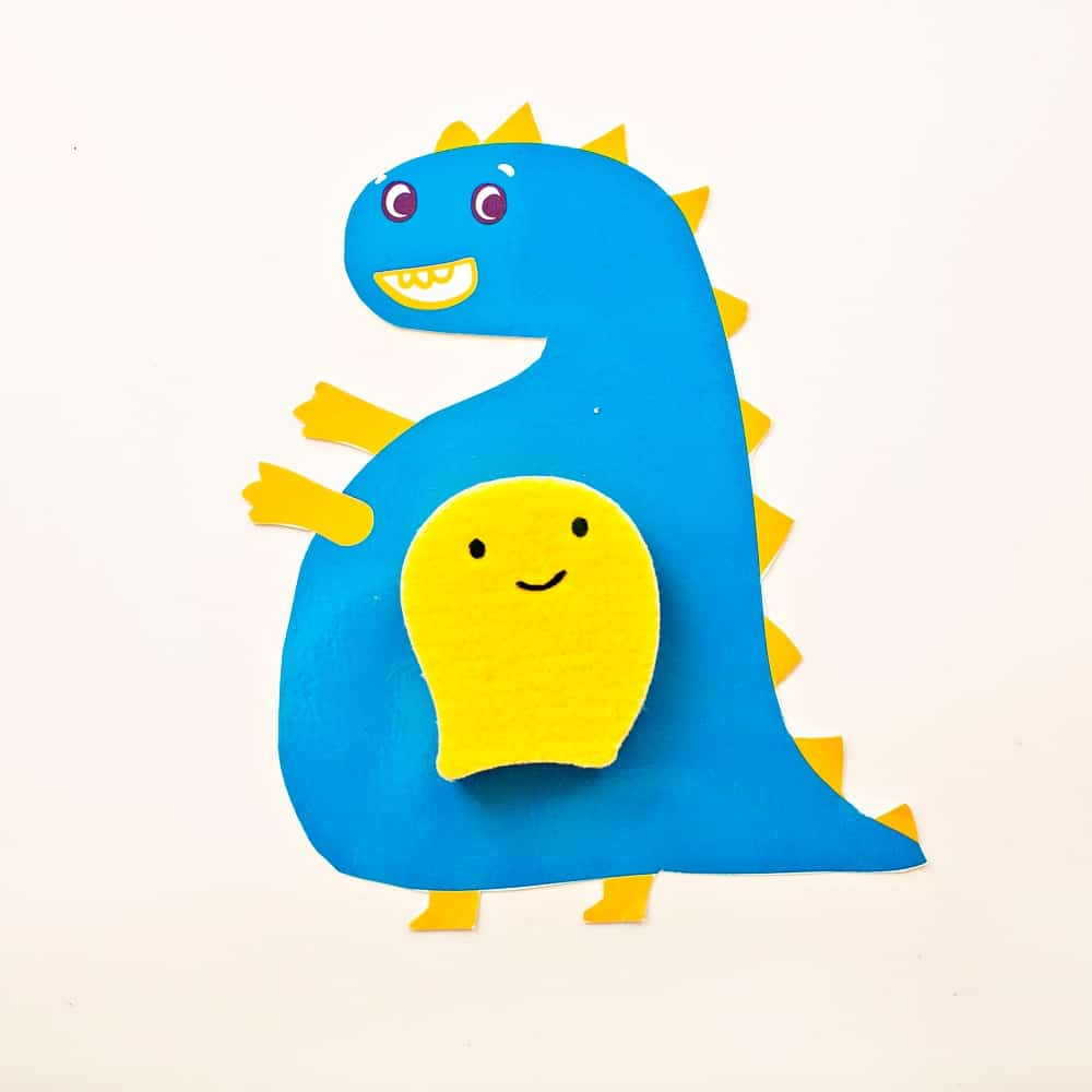 Sensory Dinosaur Cards