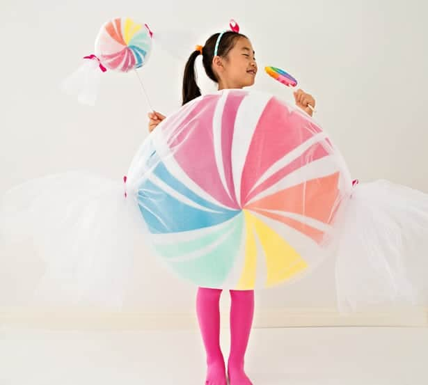 DIY Candy Costume for Kids
