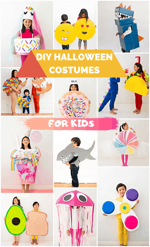 Cute and Easy DIY Halloween Costumes Kids