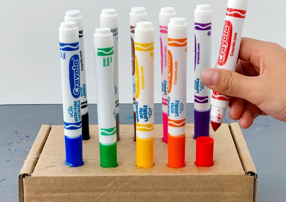 marker lid teacher classroom hack