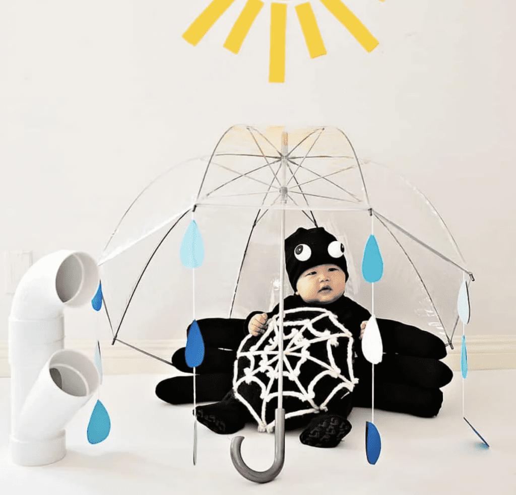DIY Spider costume