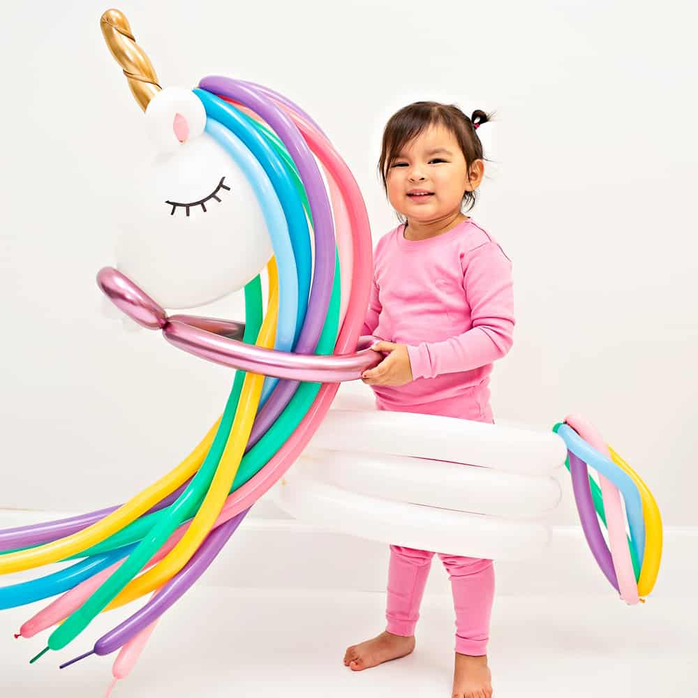 DIY Unicorn Balloon Costume
