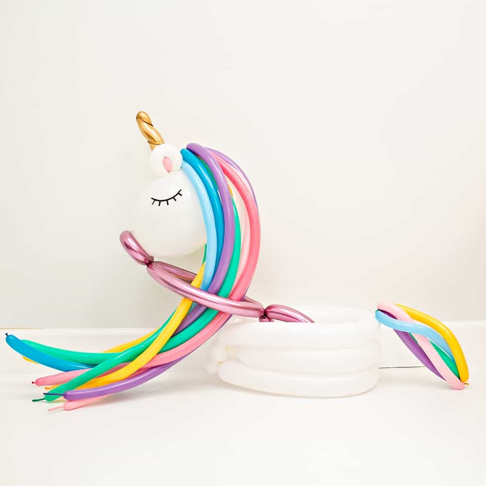 DIY Unicorn Balloon Costume for Kids - Halloween costumes
