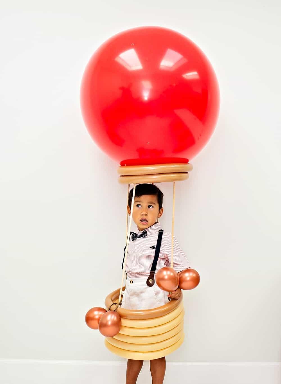 DIY Hot Air Balloon Costume for Kids