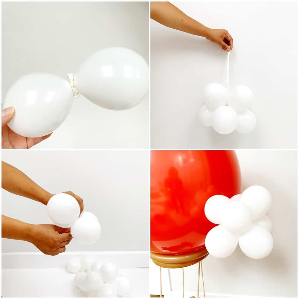 DIY Hot Air Balloon Costume for Kids - process