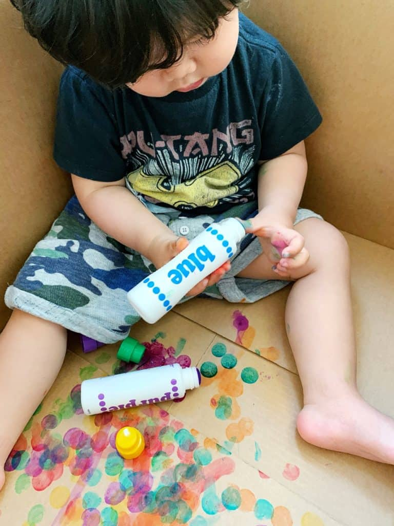 dot markers for toddler art