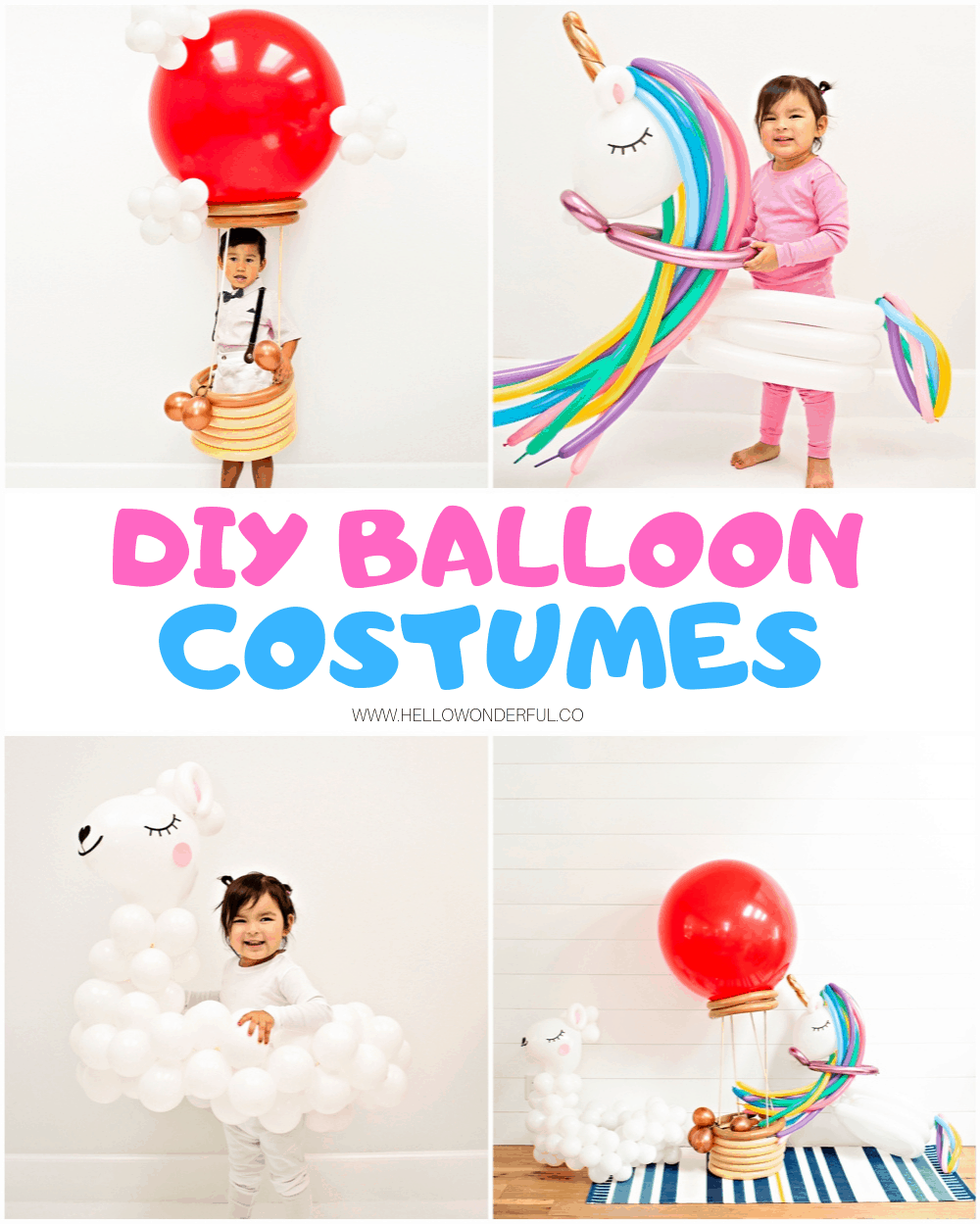DIY Balloon Costumes