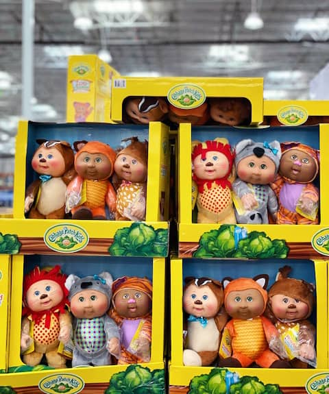Costco Cabbage Patch Dolls 3 Pack