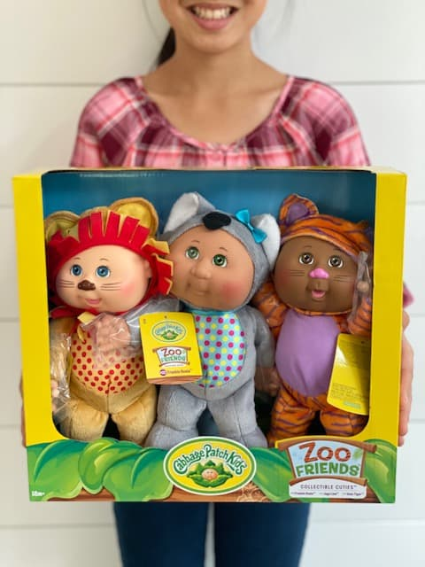 Costco Cabbage Patch Dolls 3 Pack - zoo frienedds