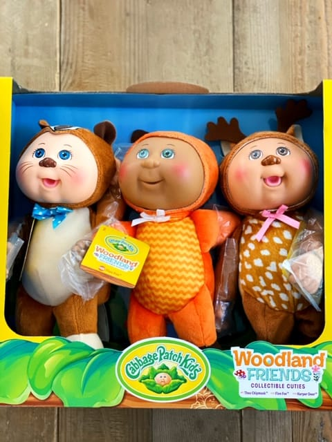 Costco Cabbage Patch Dolls 3 Pack - Woodland characters