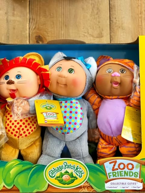 Costco Cabbage Patch Dolls 3 Pack - zoo characters