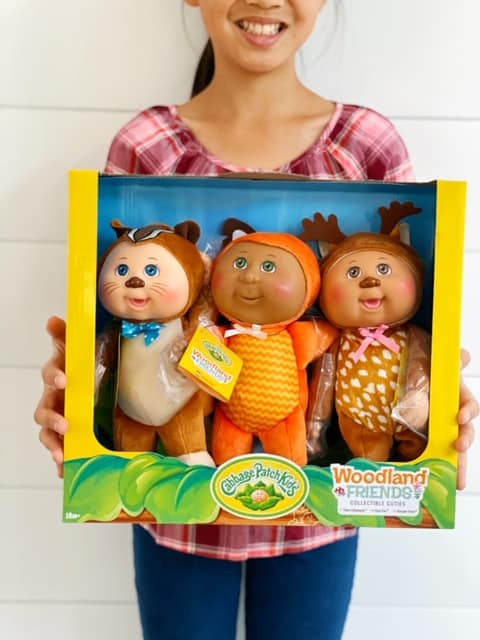 Costco Cabbage Patch Dolls 3 Pack - woodland friends