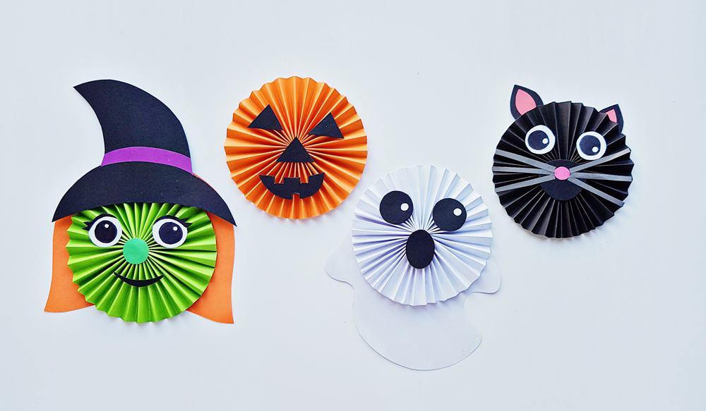 Halloween Paper Accordion Craft