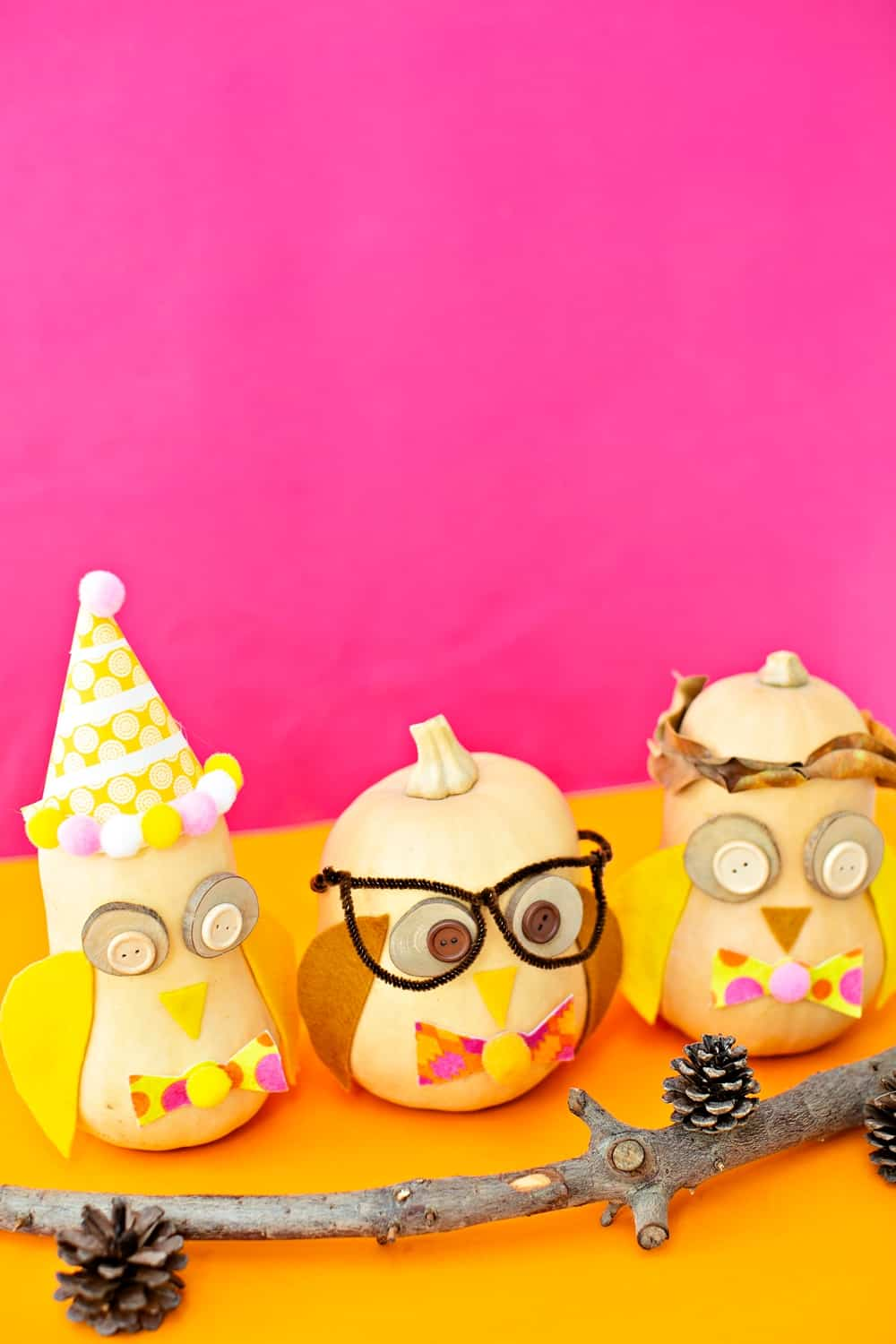 Owl Pumpkin Craft for kids