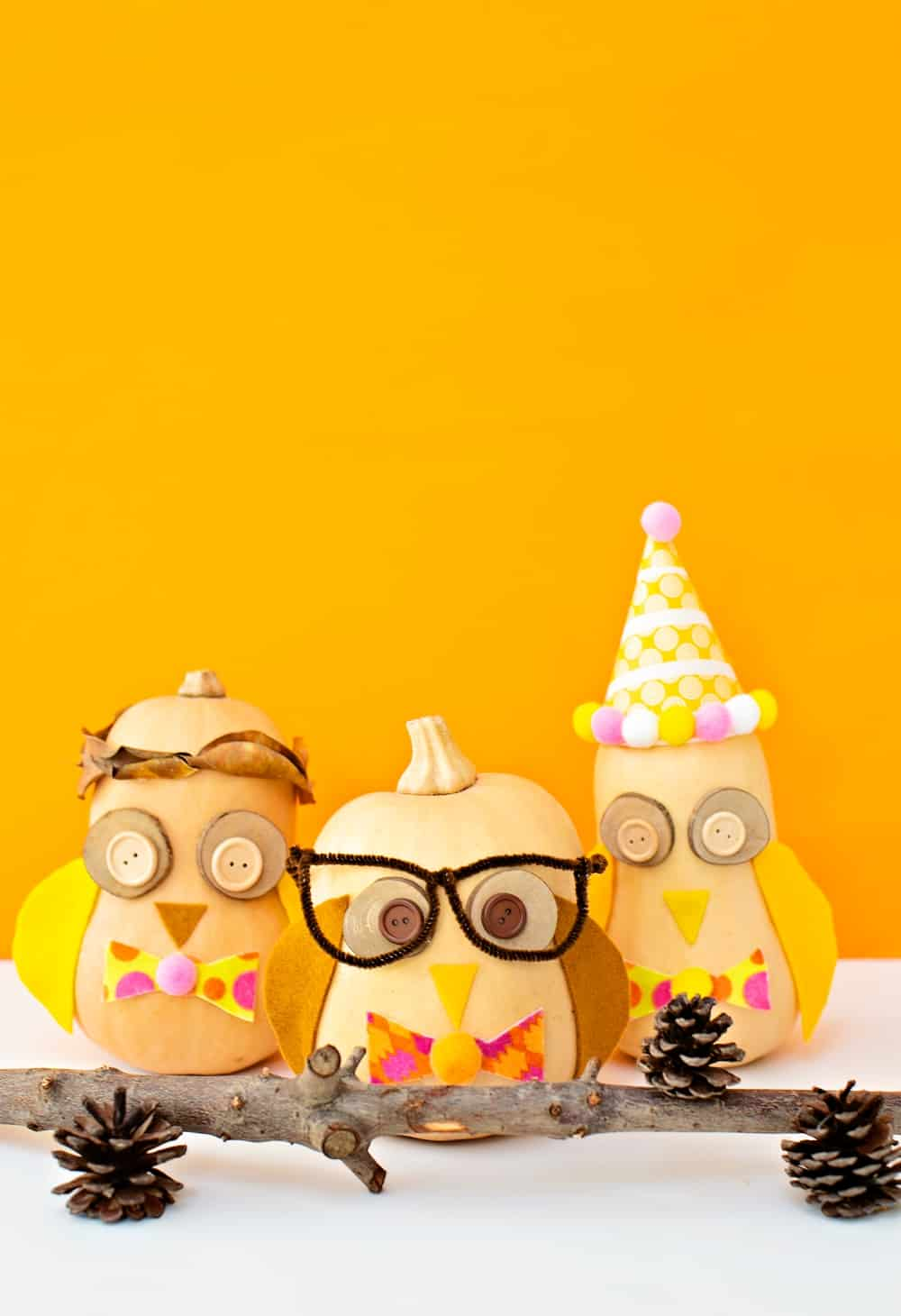 Owl Pumpkin Craft