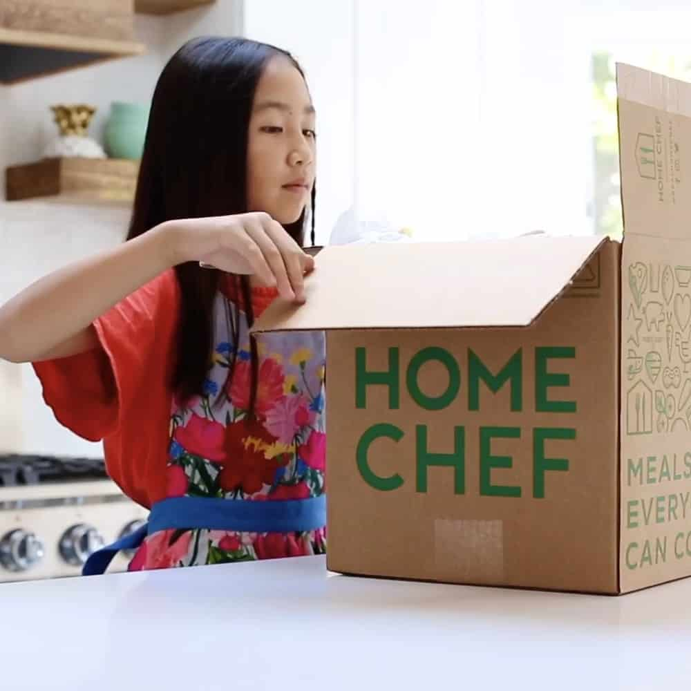 LET YOUR KIDS COOK DELICIOUS MEALS WITH HOME CHEF
