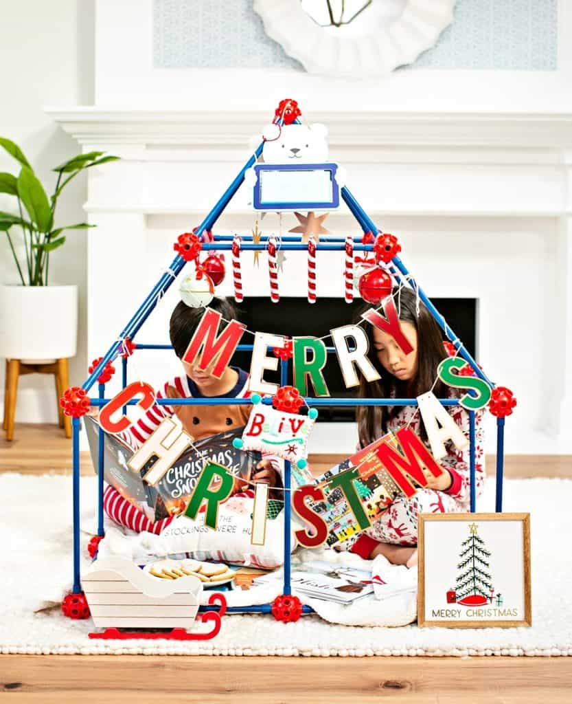 The Ultimate Fort Builder Lakeshore Learning Toy for Kids Christmas fort