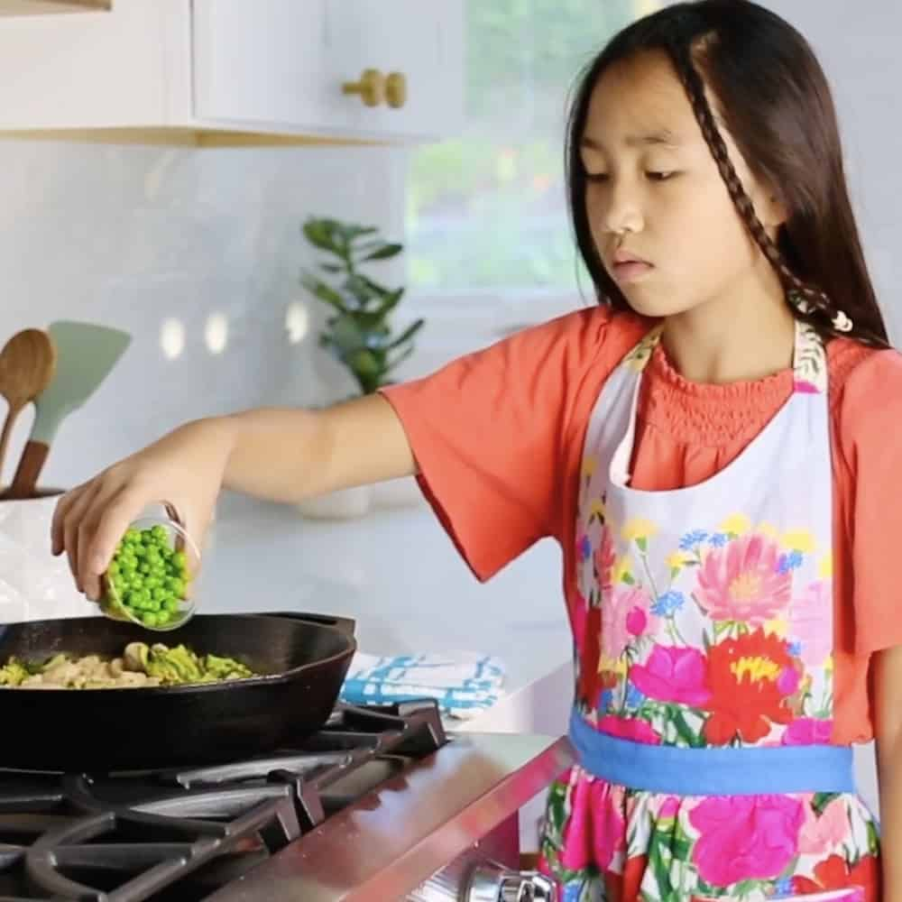 Kids cooking Home Chef Meal Delivery