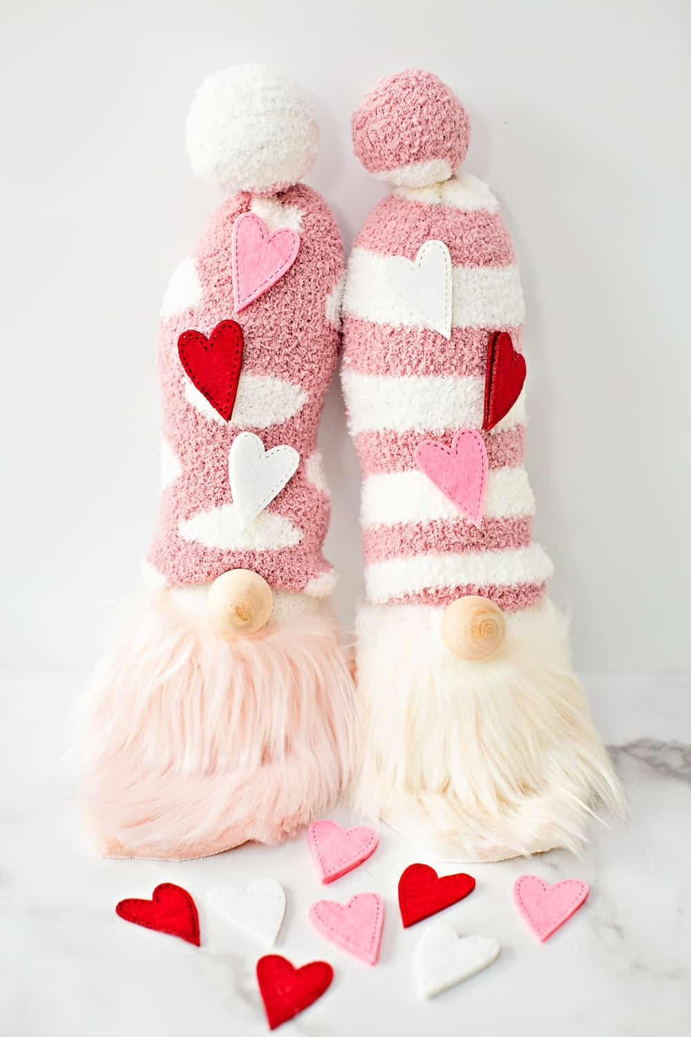 DIY Valentine Sock Gnomes