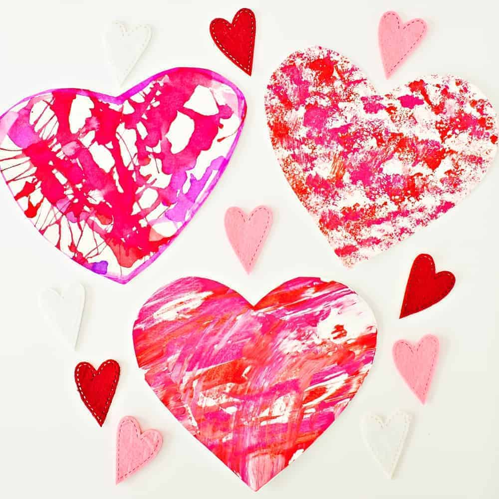 Easy Valentine Art Projects for Kids
