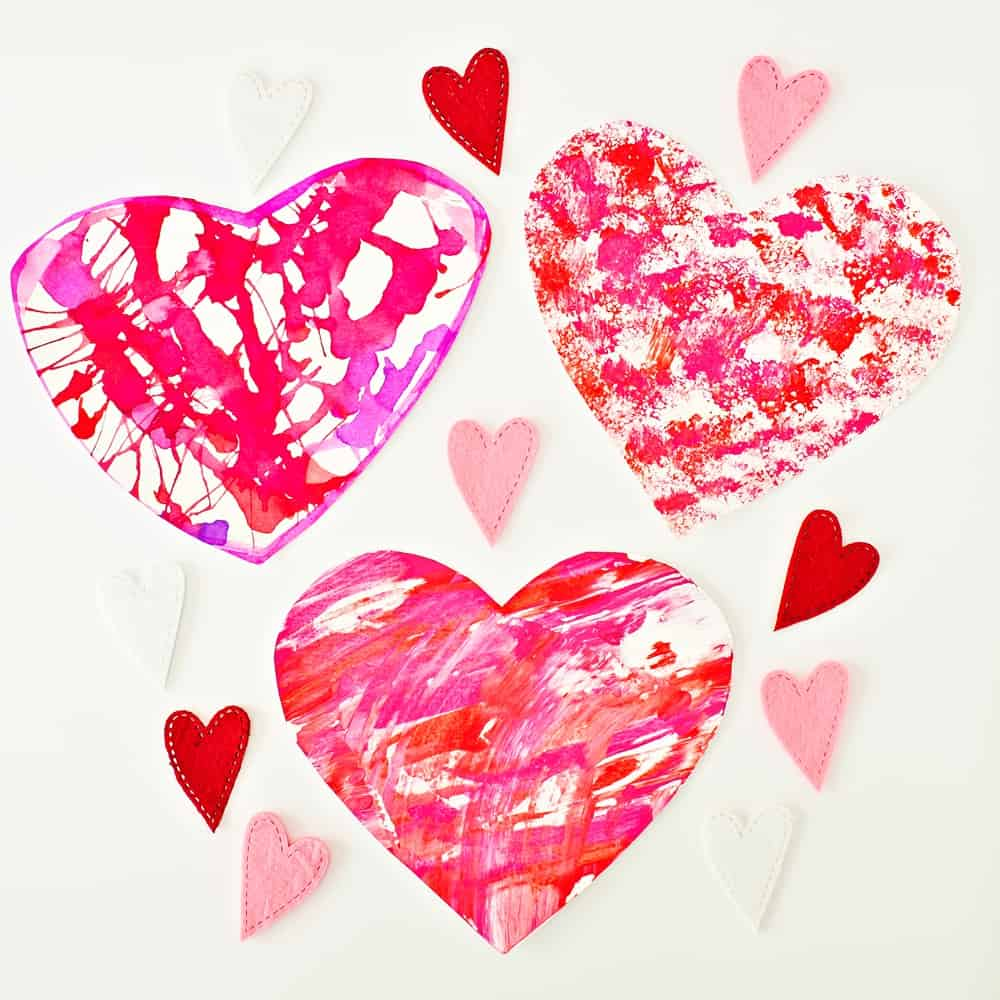 Easy and cute Valentine Arts and Crafts Projects for Kids