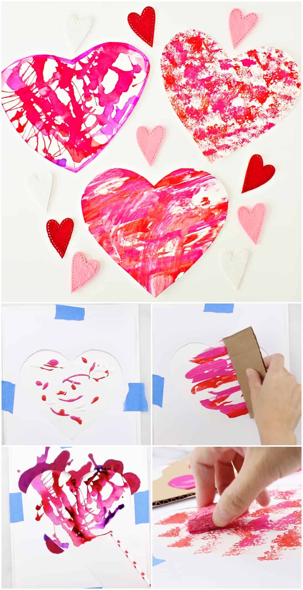 VALENTINE ART AND CRAFT PROJECT FOR KIDS