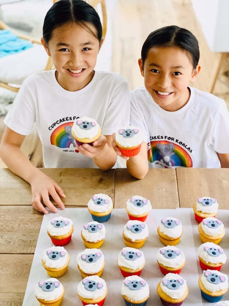 Cupcakes For Koalas Started by Two Kid Bakers to Raise Money for Australian Fires