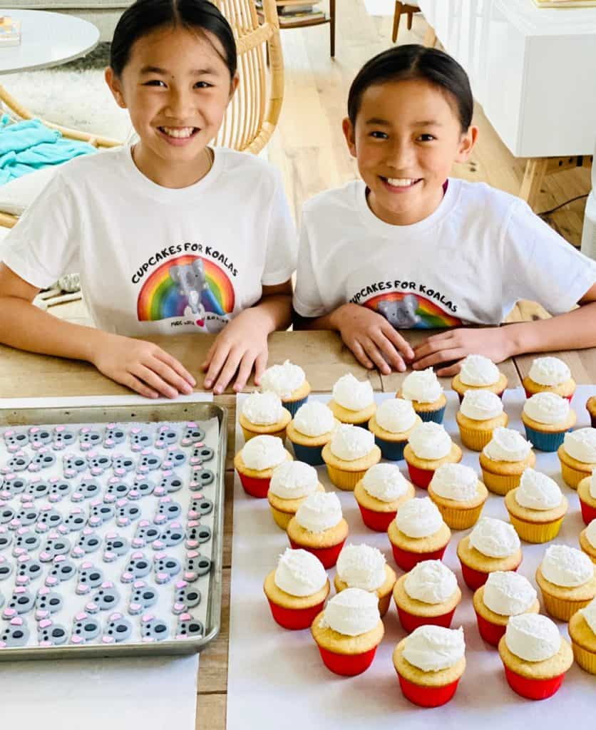 Cupcakes For Koalas raises money for the Australian Fires.