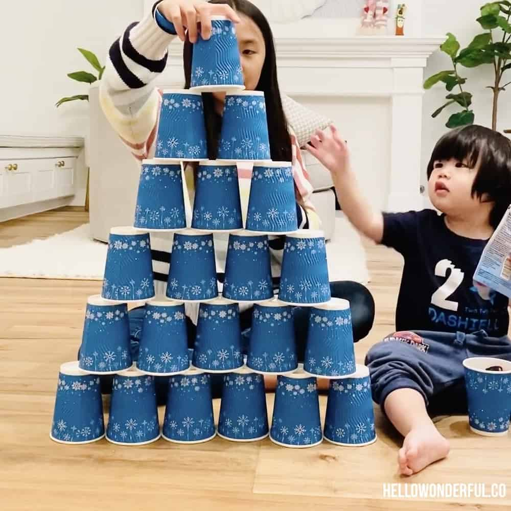 Easy Indoor Activities for Kids. Cheap fun and simple ideas many using recycled or household materials.