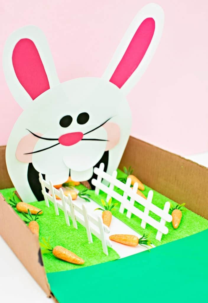 Feed the Bunny Easter Game for Kids