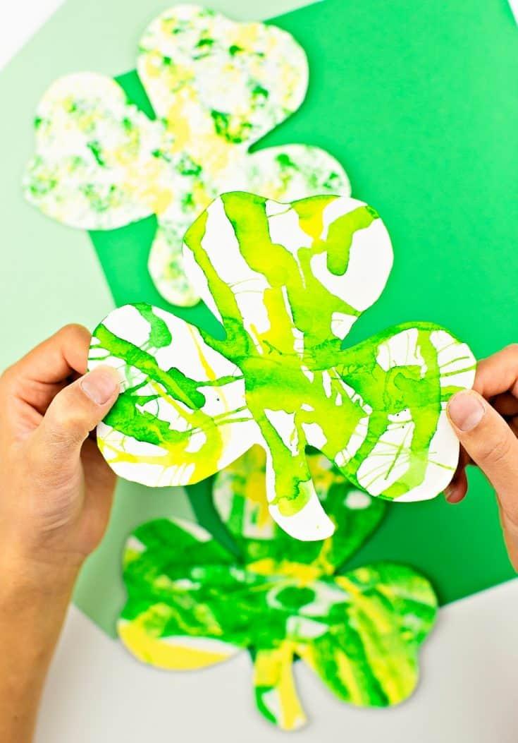SHAMROCK ART PROJECTS FOR KIDS