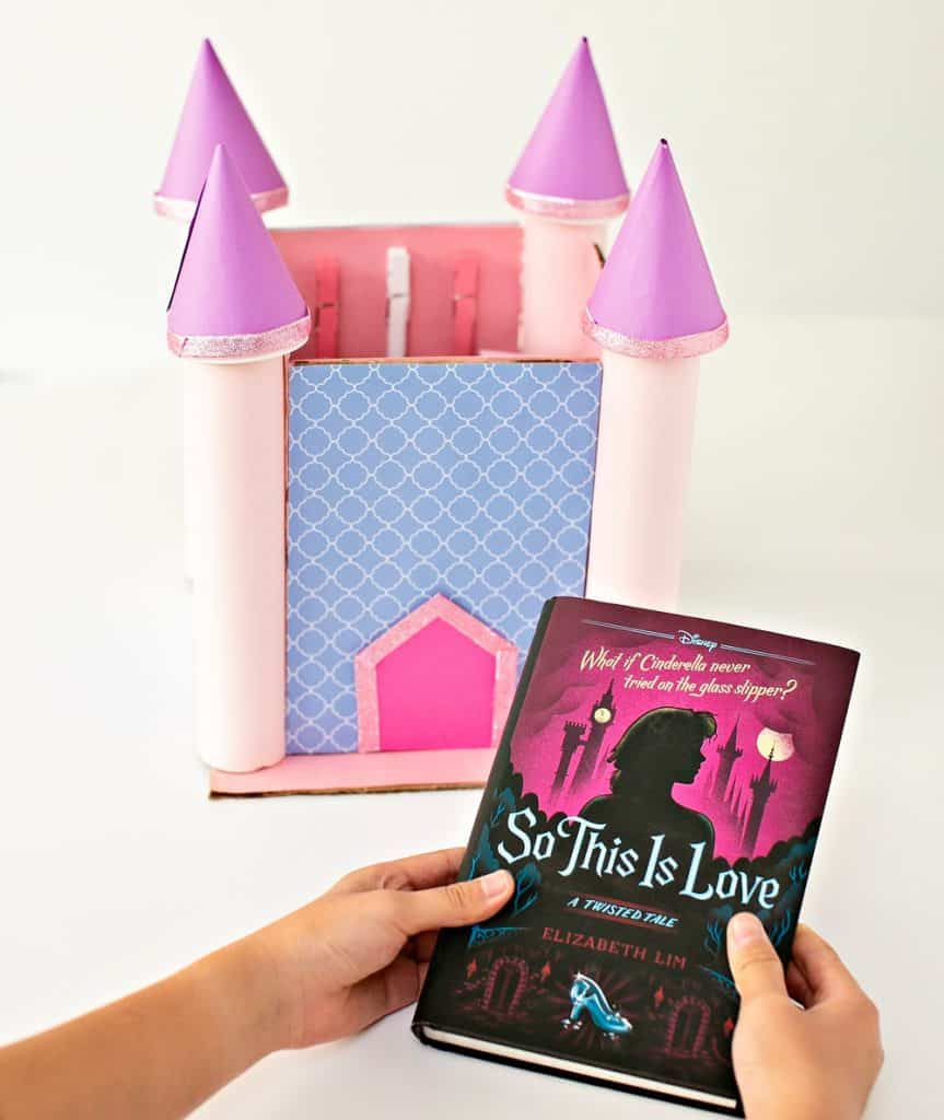 Cardboard Castle inspired by So This is Love book