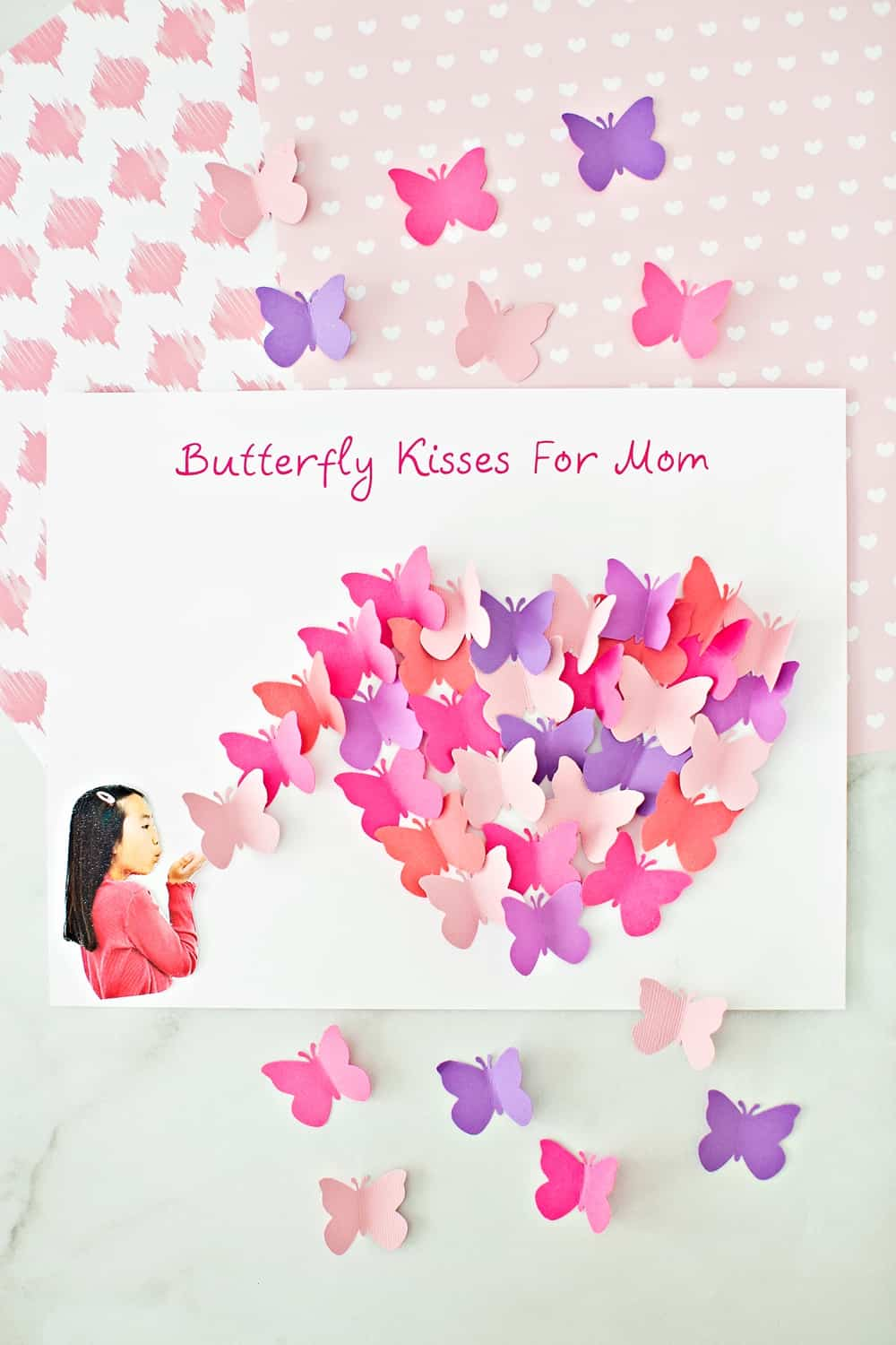 Mother's Day Butterfly Art these make pretty mother's day cards!