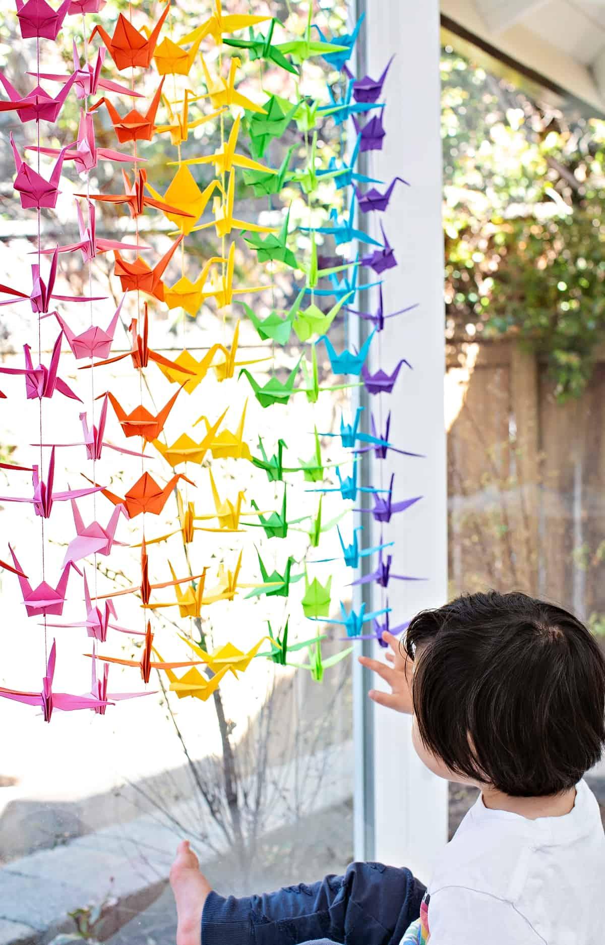 One million paper cranes project community coronavirus project.