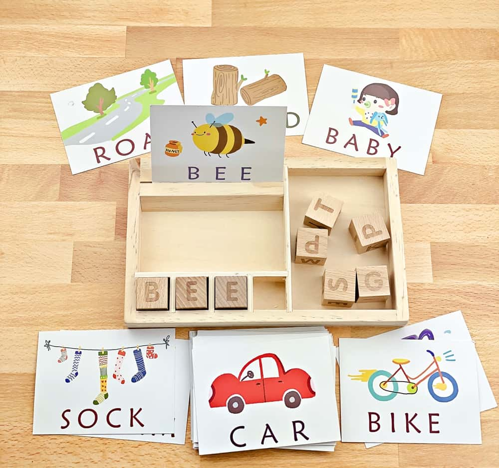 Montessori Letter Word Matching Game