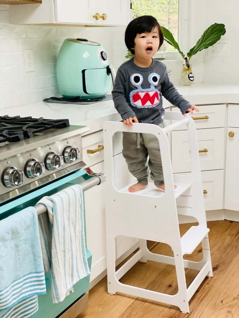 Montessori Kitchen Stool