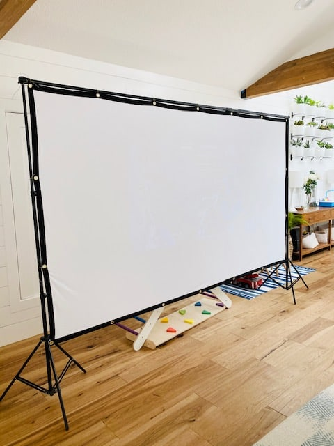 movie screen for outdoor movie