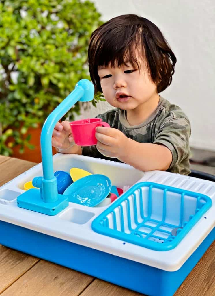 Toy Play Sink Water toy for toddlers preschoolers