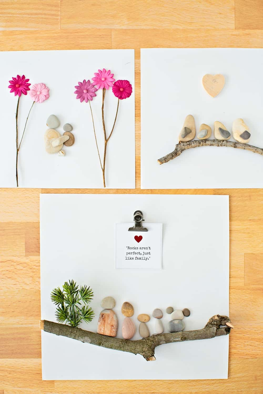 How to make pebble rock art