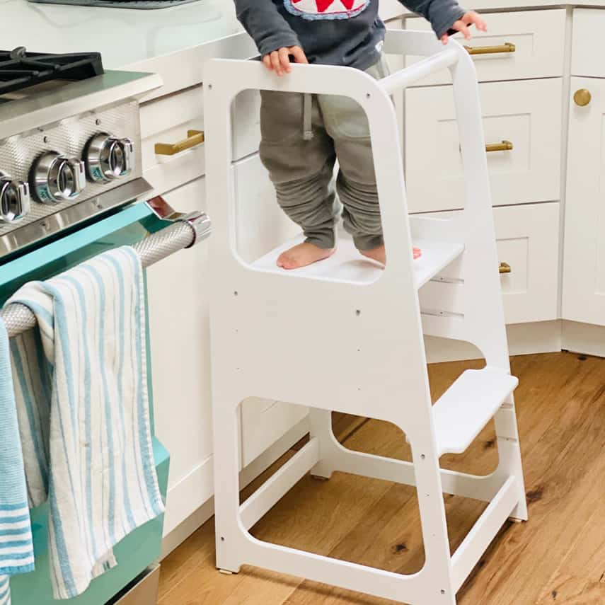 Montessori Kitchen Stool