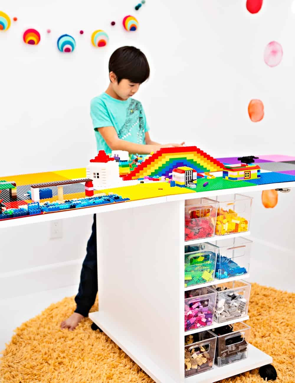 How to make a LEGO table with a Dreamcart