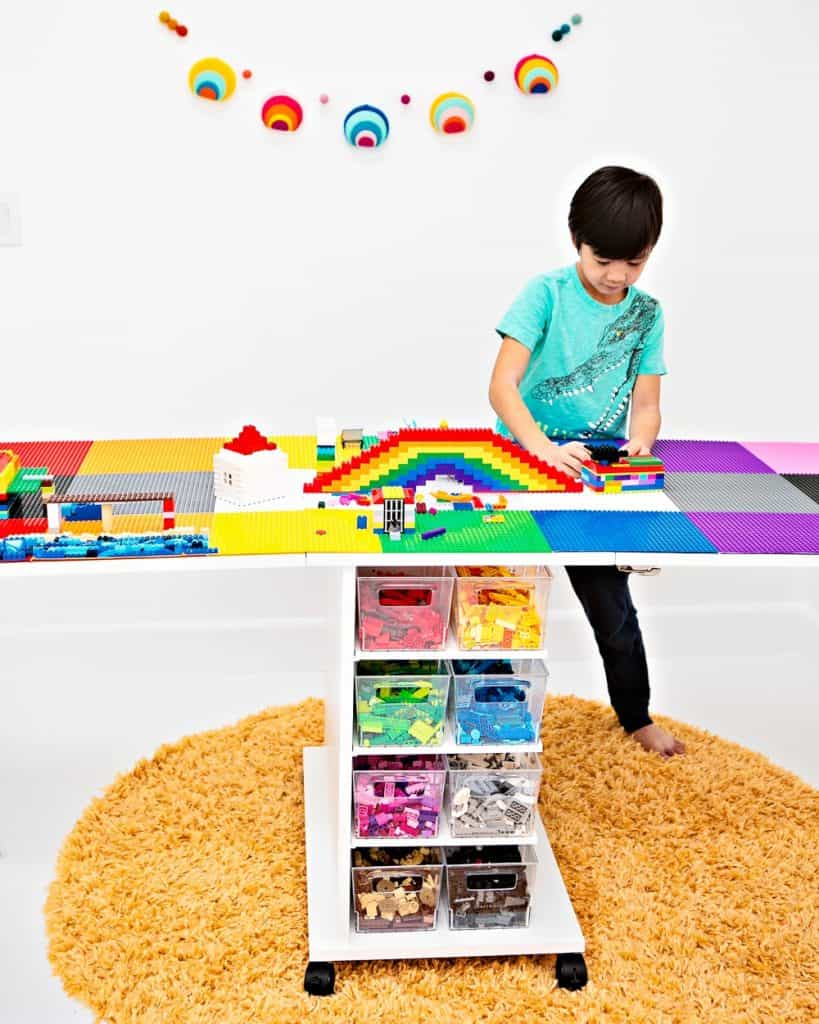 how to make a LEGO table from a DreamCart