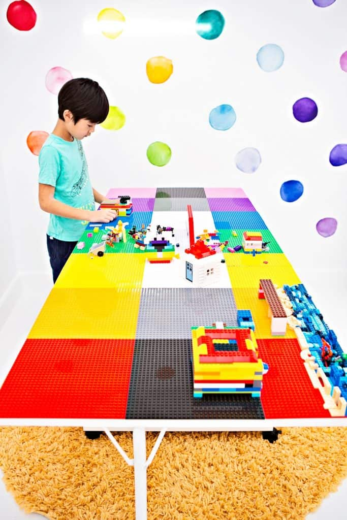 how to make a LEGO table using a DreamCart